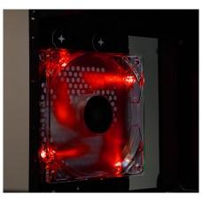 Talius - Ventilador caja 12CM - FAN-01 - LED Rojo