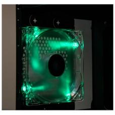 Talius - Ventilador caja 12CM - FAN-01 - LED Verde