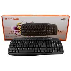 Talius teclado 838 Multimedia black USB (Espera 3 dias)
