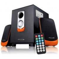 Talius altavoz SPK-2101BT 2.1 USB/SD/FM Bluetooth black/orange (Espera 5 dias)
