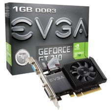 VGA EVGA GEFORCE GT 710 1GB LOW PROFILE (Espera 2 dias)