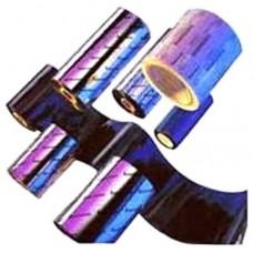 WAX RIBBON ZEBRA TLP 110mm x 70m PACK 12UNI