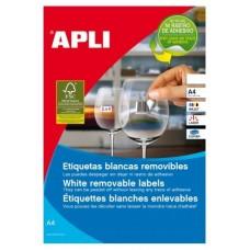 ETIQUETAS APLI A4 48.5X25.4MM