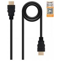 CABLE HDMI V2.0 (ALTA VELOCIDAD) 4K  A/M-A/M 0.5M