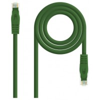 CABLE RED LATIGUILLO RJ45 LSZH CAT.6A UTP AWG24 VERDE