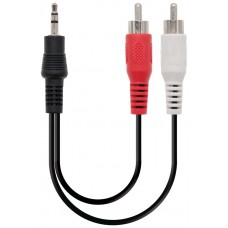 Nanocable - Cable adaptador audio estereo 0.3m -
