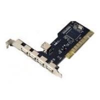 Nanocable - Tarjeta PCI USB 2.0 5 puertos