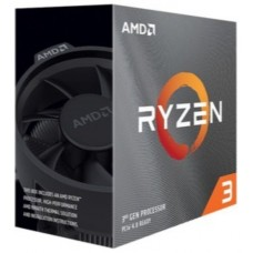PROCESADOR AMD AM4 RYZEN 3 3300X 4X4.3GHZ/18MB BOX