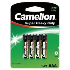 Salina Verde AAA 1.5V (4 pcs) Camelion (Espera 2 dias)