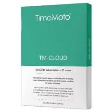 TimeMoto TM Cloud - Suscripcion anual software TM