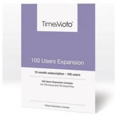 TimeMoto - Pack expansion 100 usuarios para software