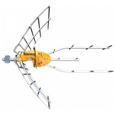ANTENA TELEVES ELLIPSE UHF C21 - 48 + ALIMENTADOR