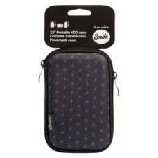 FUNDA HD SILVER HT HDD 2.5 BLACK GEOMETRIC 16208