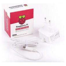 FUENTE DE ALIMENTACION USB-C 5.1V 3A - BLANCO RASPBERRY (Espera 2 dias)