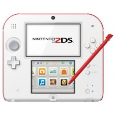 CONSOLA NINTENDO 2DS WHITE RED + TOMODACHI LIFE GAME
