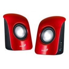 ALTAVOCES GENIUS SP-U115 2.0 JACK-3.5MM ROJO (Espera 4 dias)