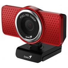 WEBCAM GENIUS ECAM 8000 Full HD 1080P ROJO