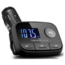TRANSMISOR ENERGY  FM CAR TRANSMITTER F2 BLACK NKIGHT