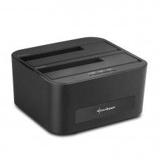 "DOCKING STATION SHARKOON QUICKPORT XT DUO 2.5""/3.5"" SATA USB 3.0 CLONE FUNCTION"