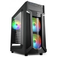 CAJA ATX SHARKOON VG6-W RGB 2XUSB3.0 SIN FUENTE
