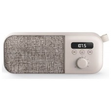 ALTAVOCES ENERGY PORTATIL FABRIC BOX RADIO CREAN 3W