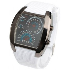 Reloj Digital Sport LED Blanco
