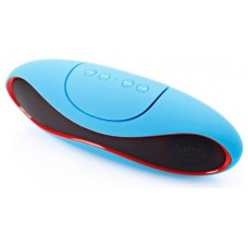 Altavoz Portátil Bluetooth Oval USB SD RADIO Azul