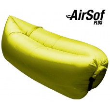 Sofá Hinchable AirSof Plus Amarillo