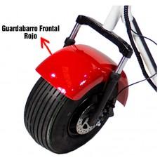 Guardabarros Frontal Rojo Citycoco (III,IV,VII)