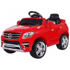 Coche Infantil Eléctrico Mercedes Benz ML350 (Licencia Oficial) Rojo