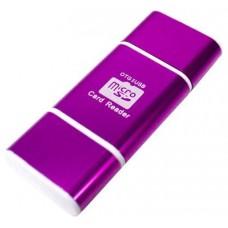 Lector OTG USB y Micro USB Rosa (Espera 2 dias)