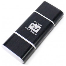 Lector OTG USB y Micro USB Negro (Espera 2 dias)