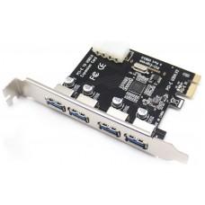Tarjeta PCI-e Ampliación 4 Puertos USB 3.0 (Espera 2 dias)