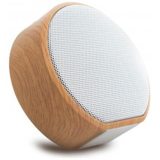 Mini Altavoz Bluetooth Inalámbrico A60 Color Madera (Espera 2 dias)