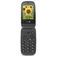 "TELÉFONO MÓVIL SENIOR DORO 6030 2,4"" GRIS T0.3MPX"