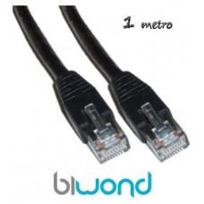 Cable Ethernet 1m Cat 5 BIWOND