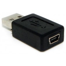 Adaptador USB a Mini USB M/H