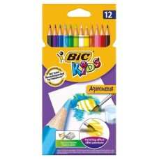 LAPICES BIC AQUACOULEUR 12U