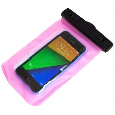 Bolsa impermeable rosa Smartphone (Espera 2 dias)