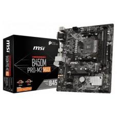 PLACA BASE MSI B450M PRO-M2 MAX AM4 MATX 2XDDR4