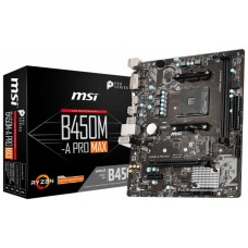 PLACA BASE MSI B450M-A PRO MAX AM4 MATX 2XDDR4