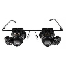Gafas Microscopio Lupa 20X (Espera 2 dias)