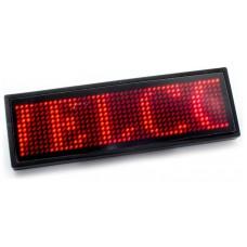 Placa Anuncio Texto Led Rojo (Espera 2 dias)