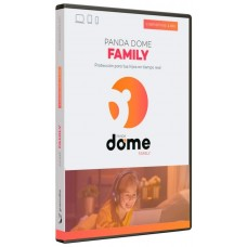 SOFTWARE ANTIVIRUS PANDA  DOME FAMILY 5 DISPOSITIVOS