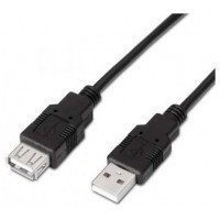 CABLE EXTENSOR USB(A) A USB(A)2.0 AISENS 1M