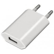 CARGADOR USB IPHONE IPOD 5V1A (5W MAX.) BLANCO 240V