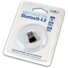 ADAPTADOR COOLBOX BLUETOOTH BT4.0 USB2.0 MINI