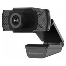 WEBCAM FHD CONCEPTRONIC AMDIS 1080P USB   3.6MM 30 FPS
