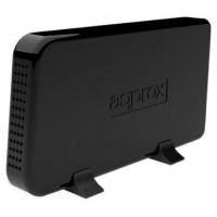 approx appHDD08B Caja Ext.3.5 USB 3.0 SATA Negra