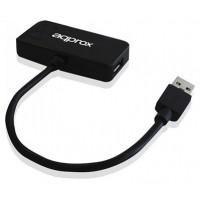 HUB 3 PUERTOS USB 2.0 Y 1 PUERTO USB3.0 APPROX COLOR